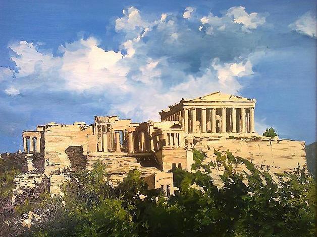 21 Афинский Акрополь